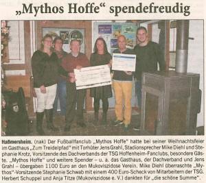 Mythos Hoffenheim Rhein-Neckar-Zeitung