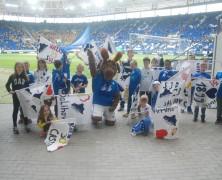 Maltag im Stadion – Blaue Kids in der Kneipe