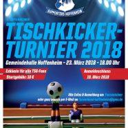 Tischkickerturnier 2018
